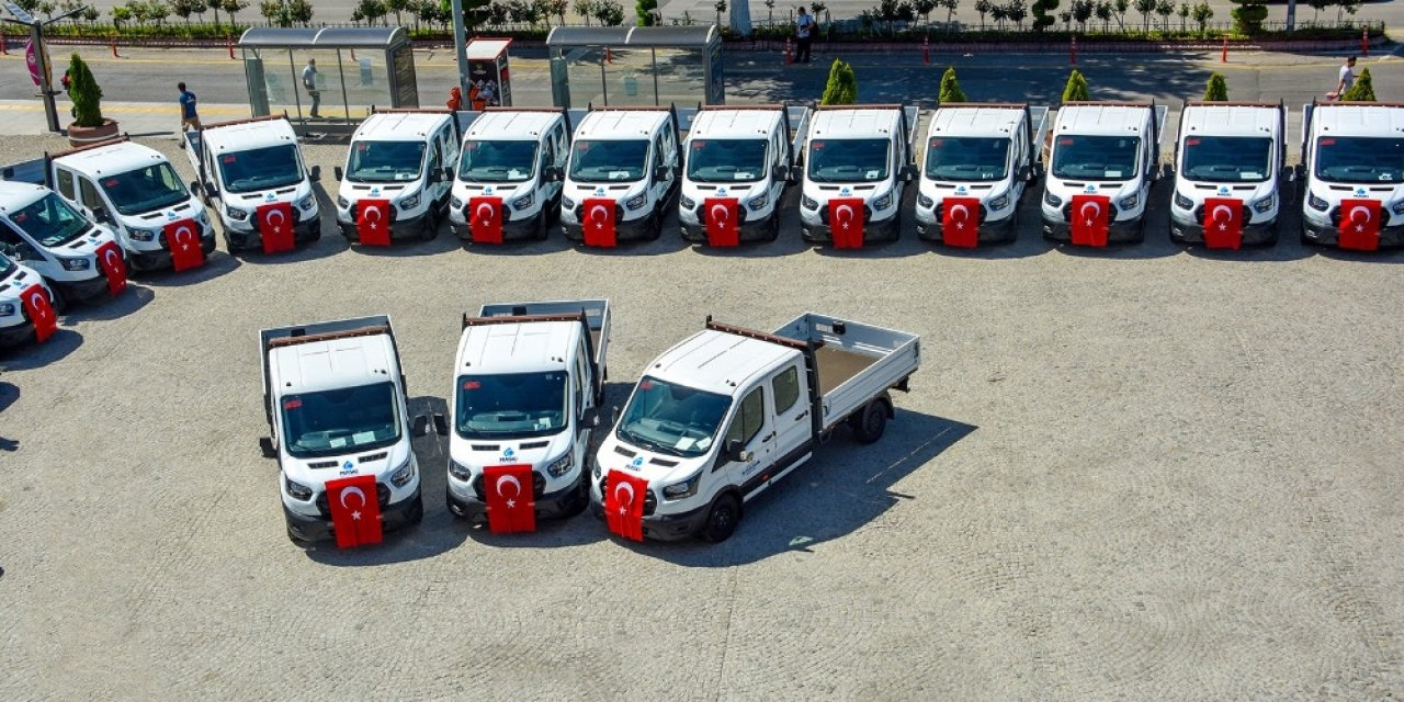 Malatya'da büyükşehir araç filosunu yeniliyor
