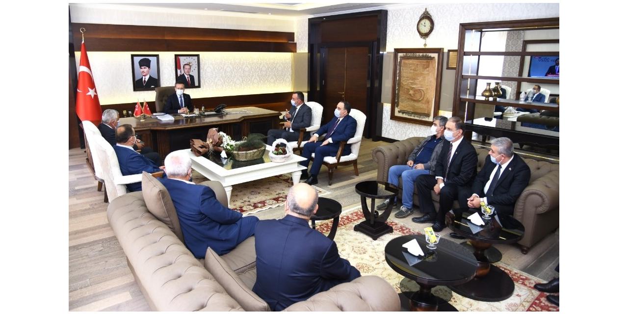 ATB'den Aydın Valisi Aksoy'a ziyaret