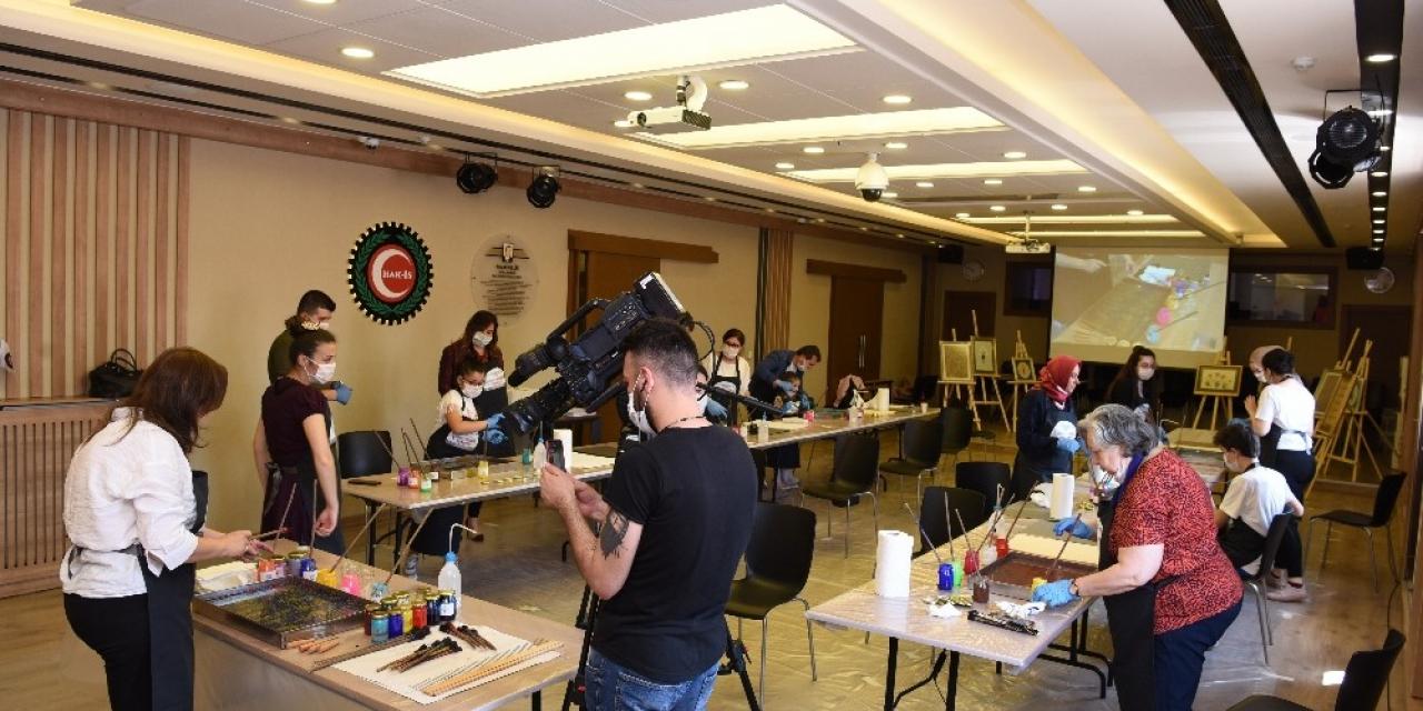 HAK-İŞ'ten üyelerine ve ailelerine renkli eğitim