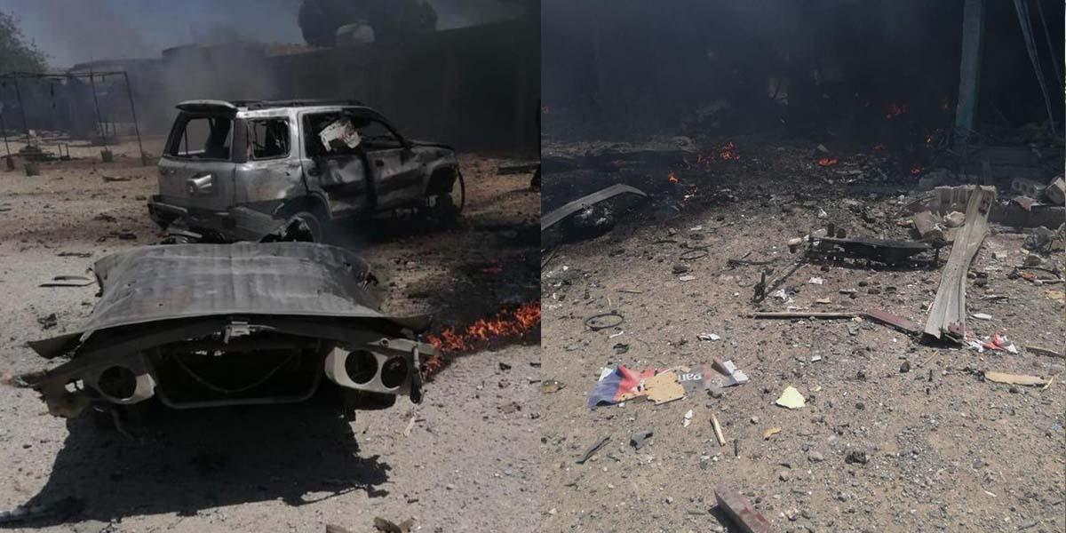 Barış Pınarı bölgesinde terör saldırısı: 5 ölü,12 yaralı