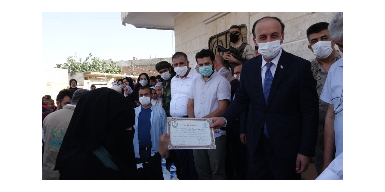 Resulayn'da 132 Kuran öğreticisi törenle mezun oldu