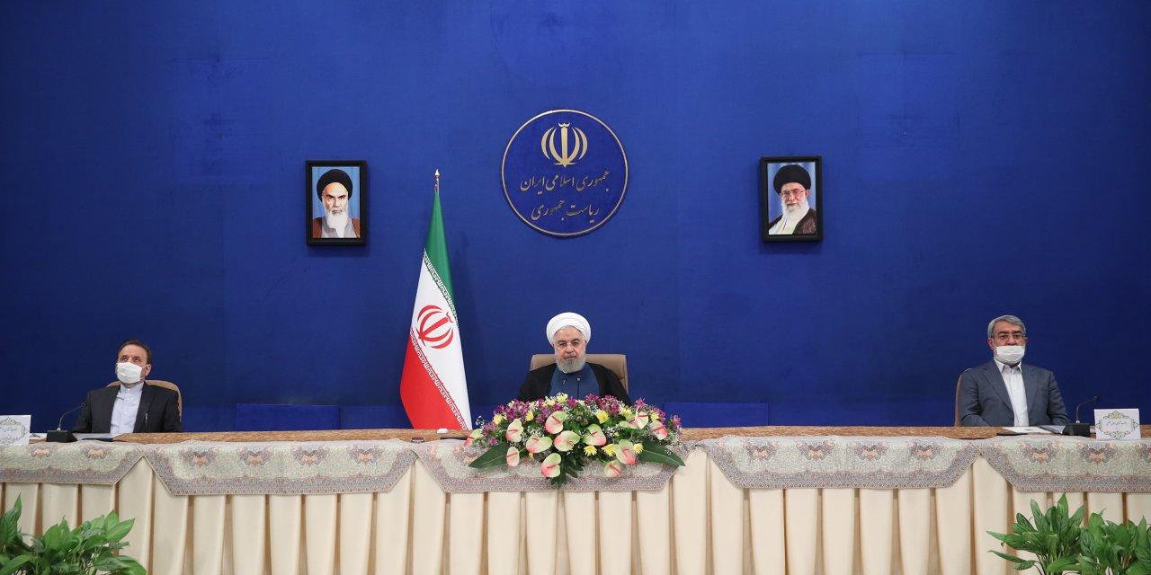 """Ruhani: """"Petrol ihracatımız artık Hürmüz Boğazı'na göbekten bağlı değil"""""""