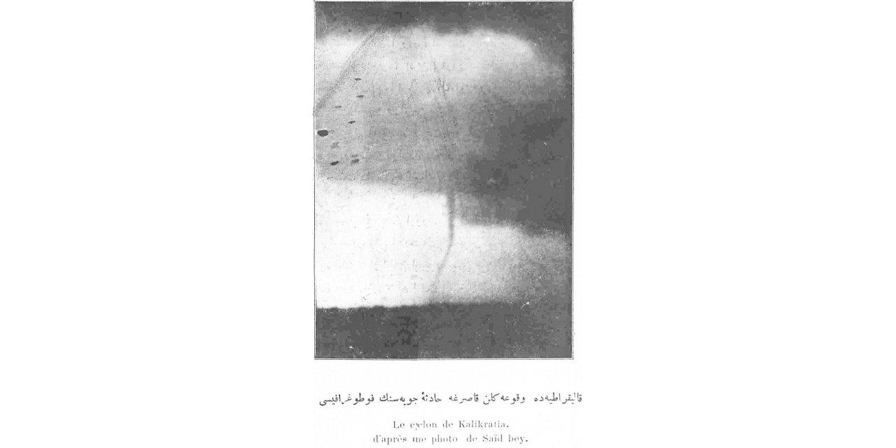 Büyükçekmece'deki bir asır önceki hortumun kayıtları ve fotoğrafı arşivden çıktı
