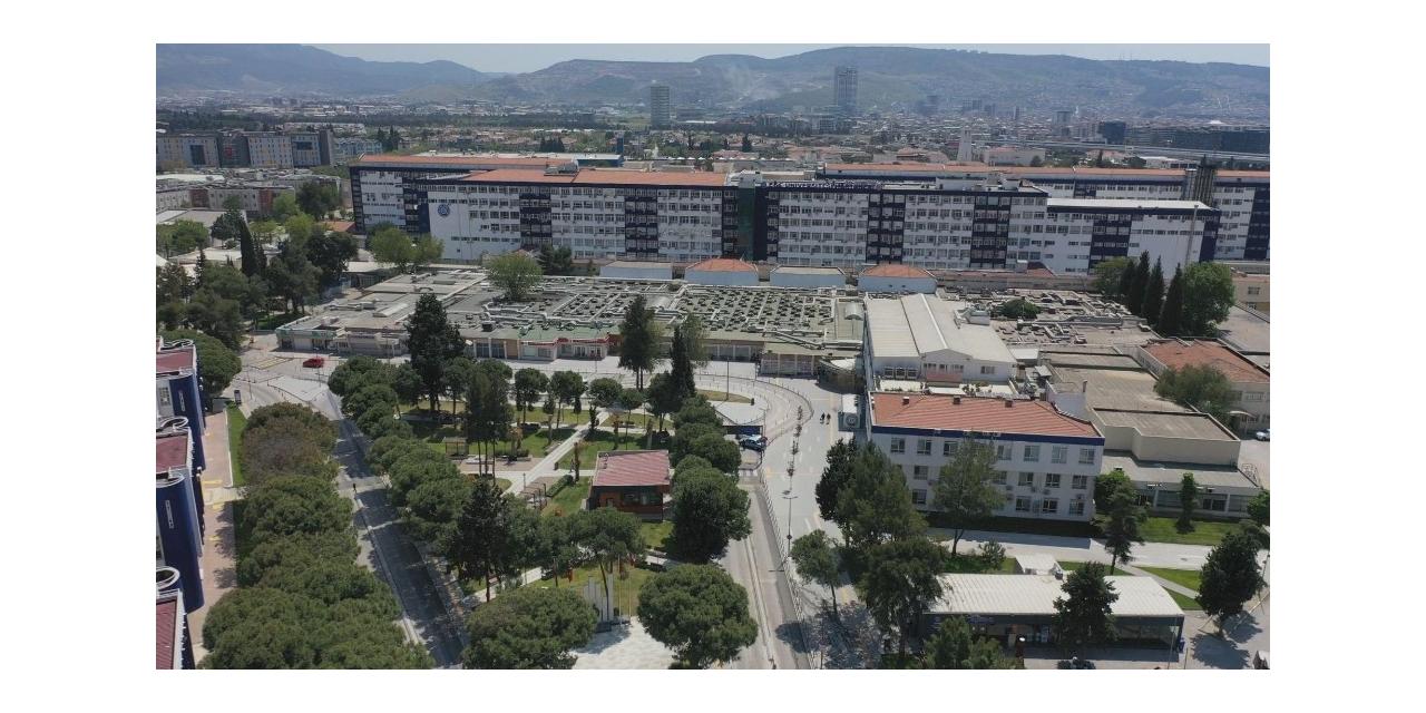 Ege Üniversitesi Hastanesinin yeşil alan miktarı 2,5 kat arttı