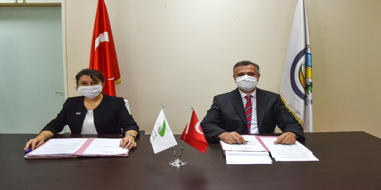 Düzce Üniversitesi ile Bolu Orman Bölge Müdürlüğü protokol imzaladı