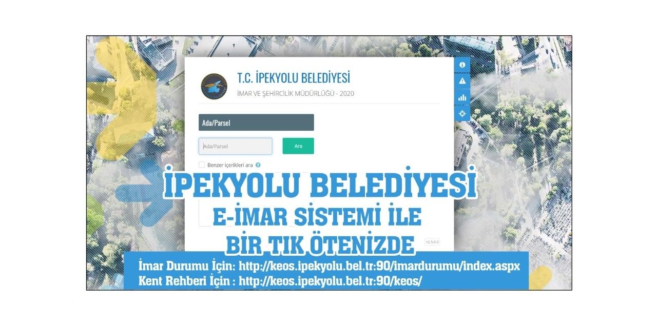 İpekyolu Belediyesinde 'e-imar sistemi' dönemi