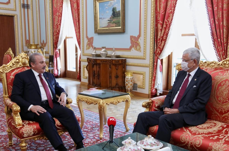 TBMM Başkanı Şentop, BM Genel Kurul Başkanı Bozkır ile görüştü!