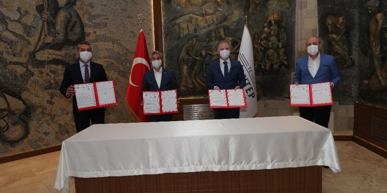 Vali Gül'ün 100 okul projesine Tahmazoğu'ndan 3 okul ile destek