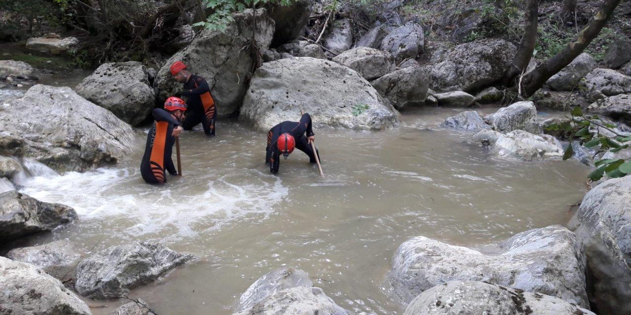 Bursa'da selde kaybolan genç kızı arama çalışmalarına ara verildi