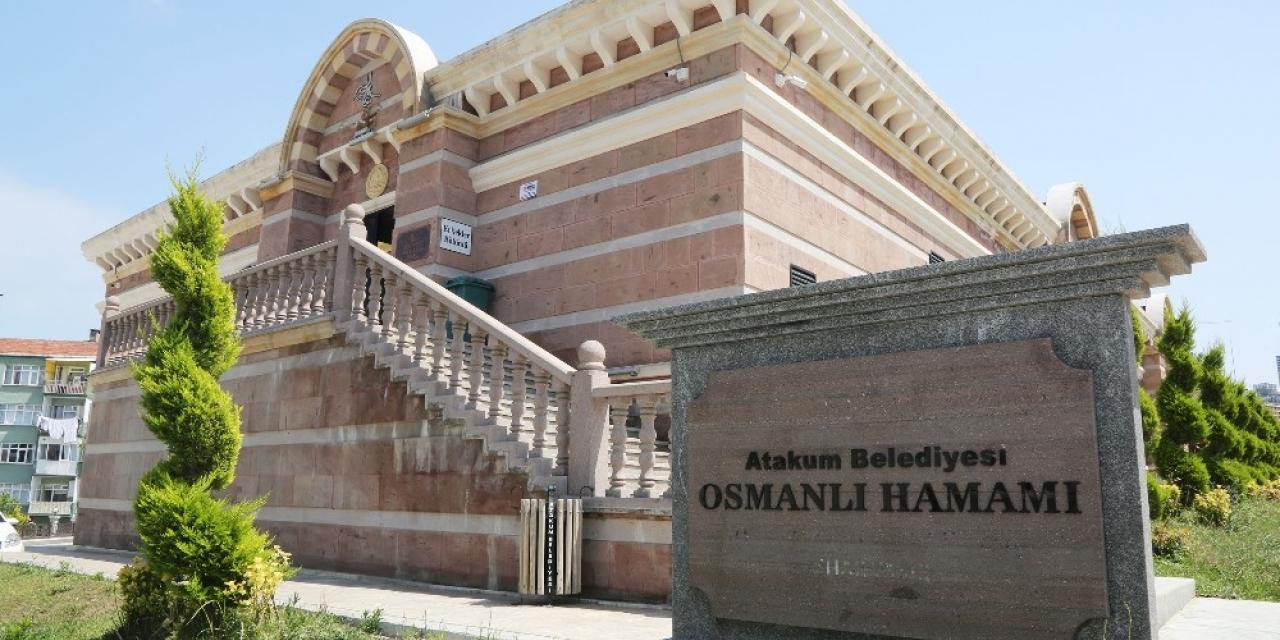 Atakum Belediyesi Osmanlı Hamamı kapılarını yeniden açtı