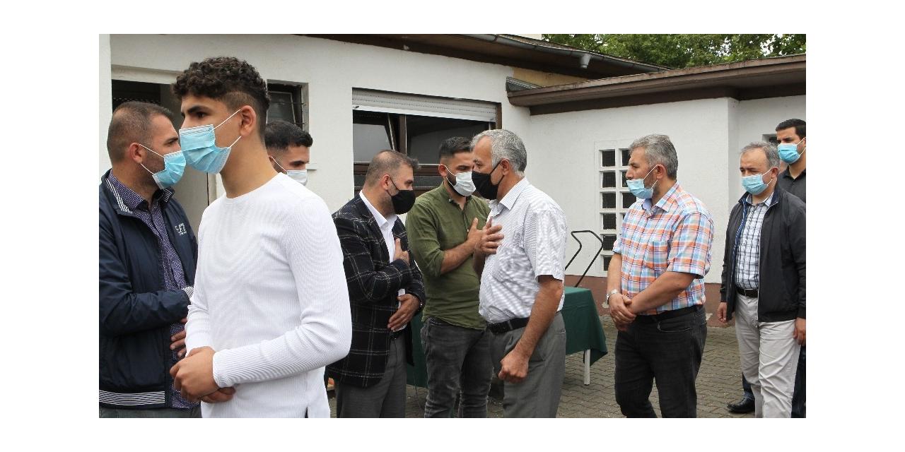 Ren Nehri'nde boğulan anne ve oğlunun cenazeleri Türkiye'ye gönderildi