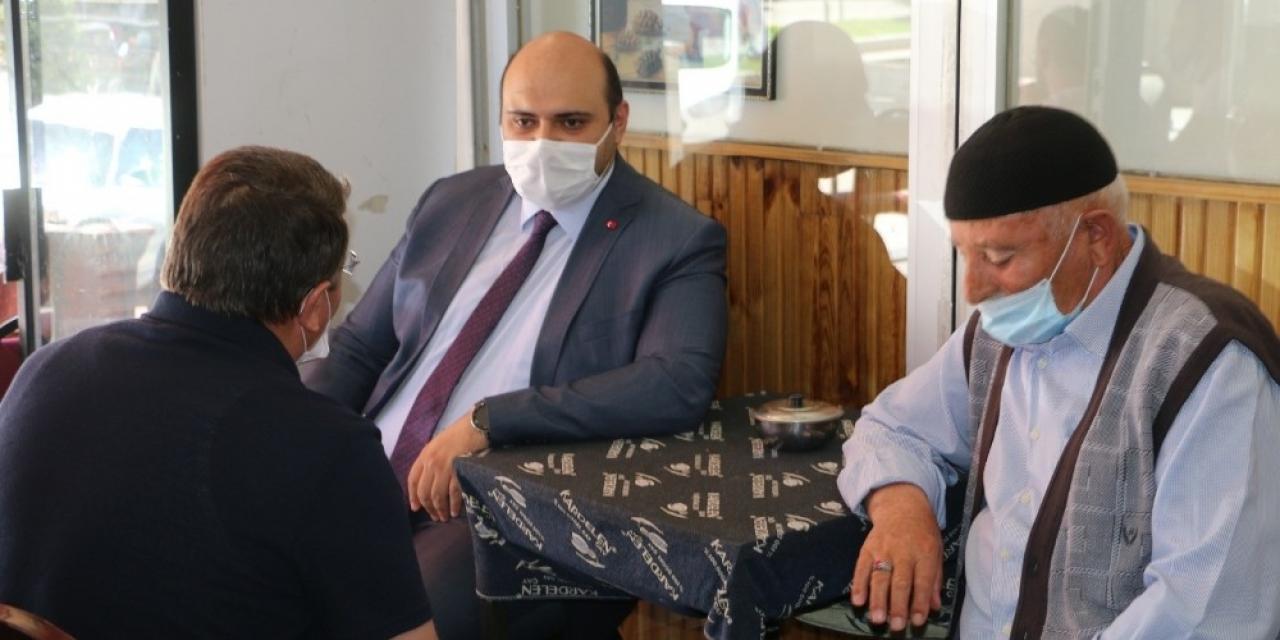 Başkan Orhan'dan esnafa pandemi teşekkürü