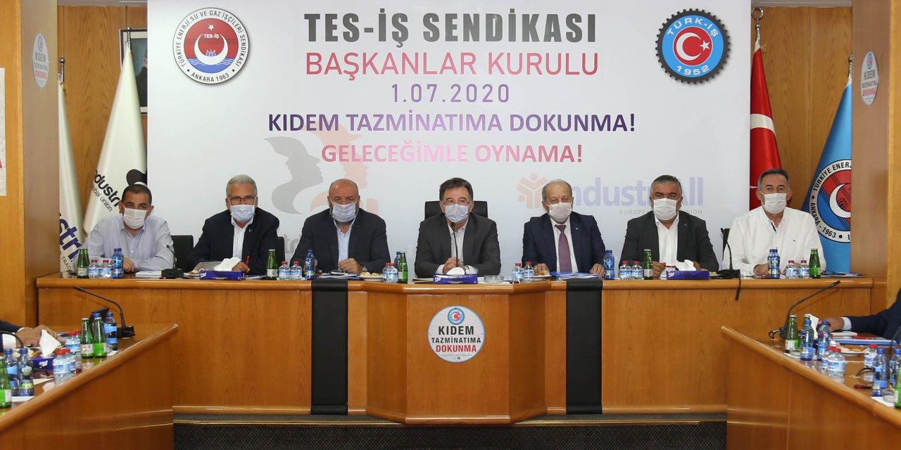 TES-İŞ Sendikası Genel Başkanı Akma'dan kıdem tazminatı açıklaması: