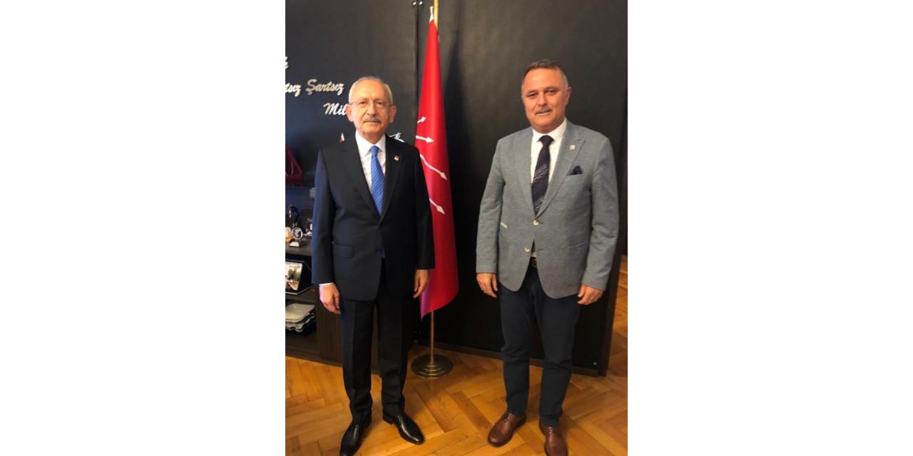 Başkan Bayar, Kılıçdaroğlu ile Eşref Ural'ın partiye dönüşünü konuştu