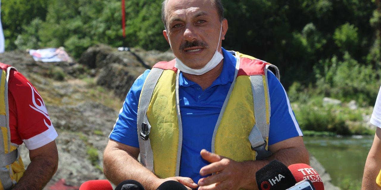 """Melet Irmağı'nda """"Rafting Parkuru İnceleme ve Rafting Sporu Tanıtım Etkinliği"""""""