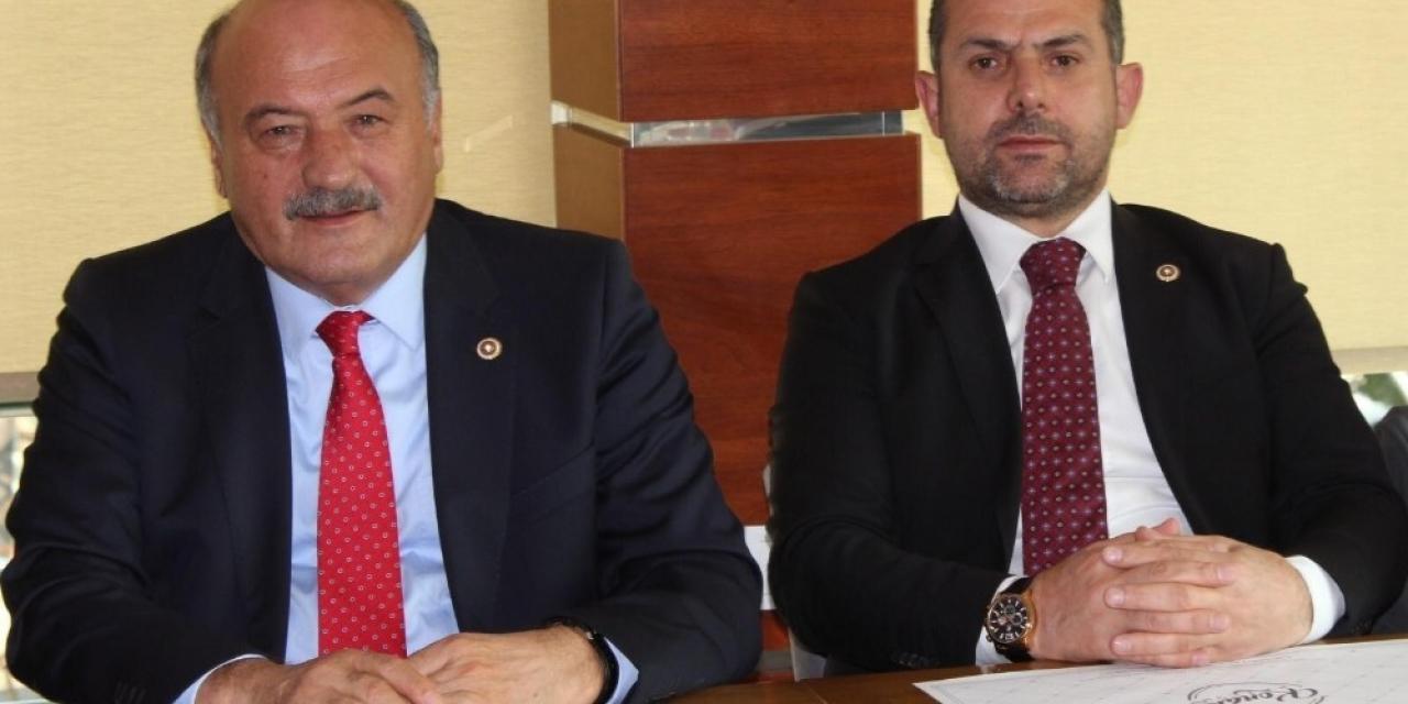 AK Parti Erzincan Milletvekilleri kentteki sağlık hizmetlerini değerlendirdi