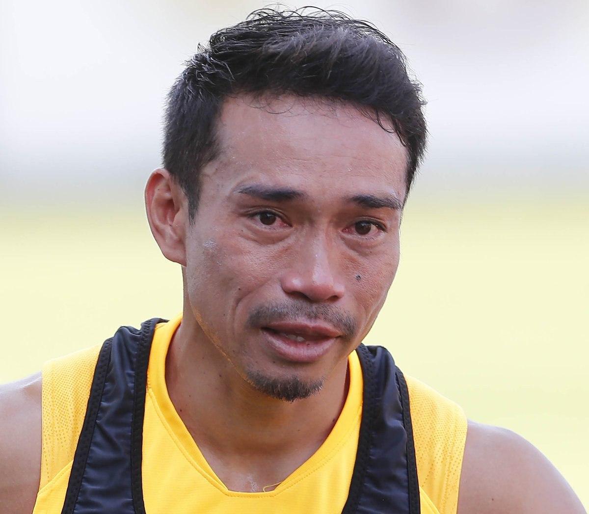 Nagatomo son antrenmanına çıktı... Gözyaşlarına hakim olamadı!