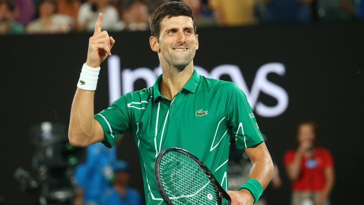 Ünlü tenisçi Novak Djokovic'in testi negatif çıktı!