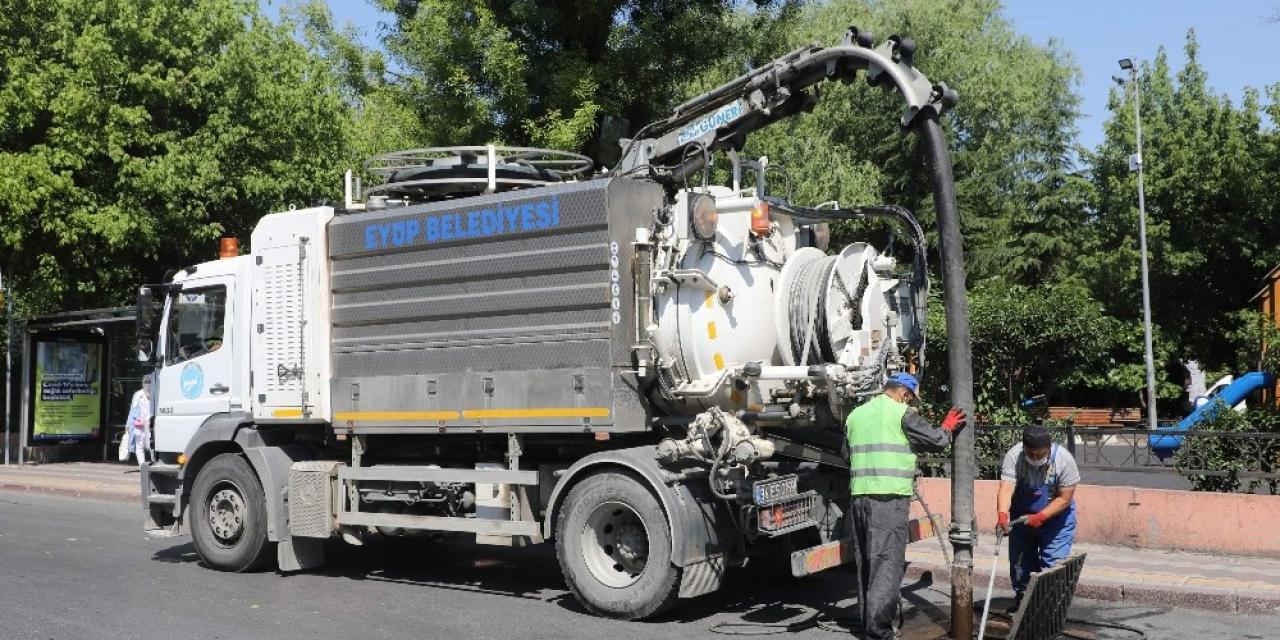 Eyüpsultan mahallelerinde yaz temizliği