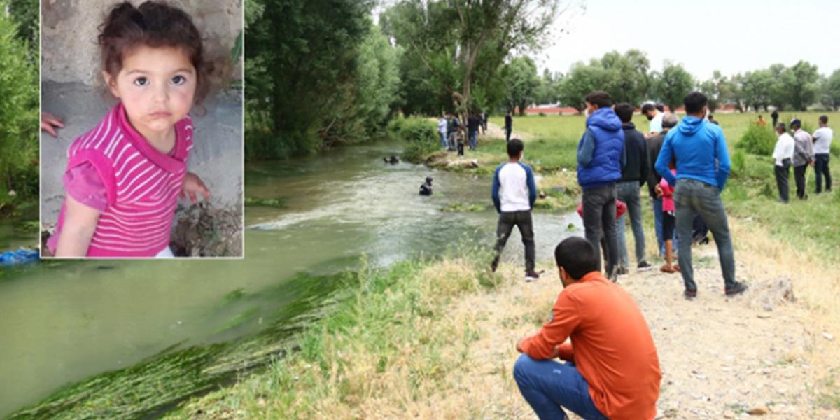 Evinin önünde kaybolan 2 yaşındaki Melek'ten acı haber!