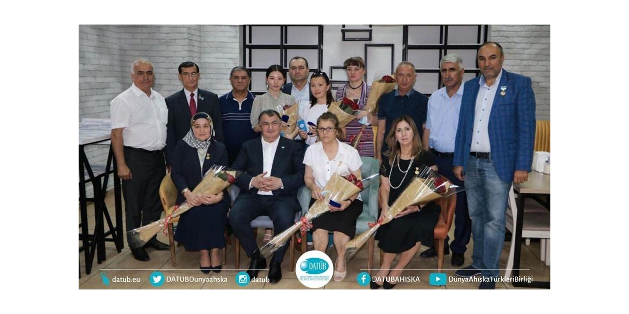 Başkan Kassanov, Ahıska gazetesini tebrik etti