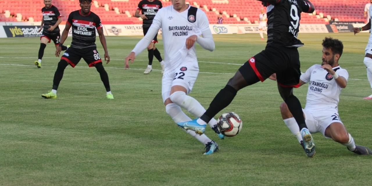 TFF 1. Lig: E.H. Balıkesirspor: 0 - Fatih Karagümrük: 5
