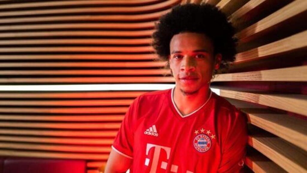 Bayern Münih, Leroy Sane ile sözleşmeyi imzaladı