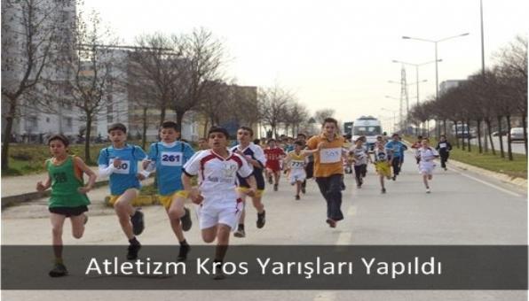 Atletizm Kros Yarışları Yapıldı