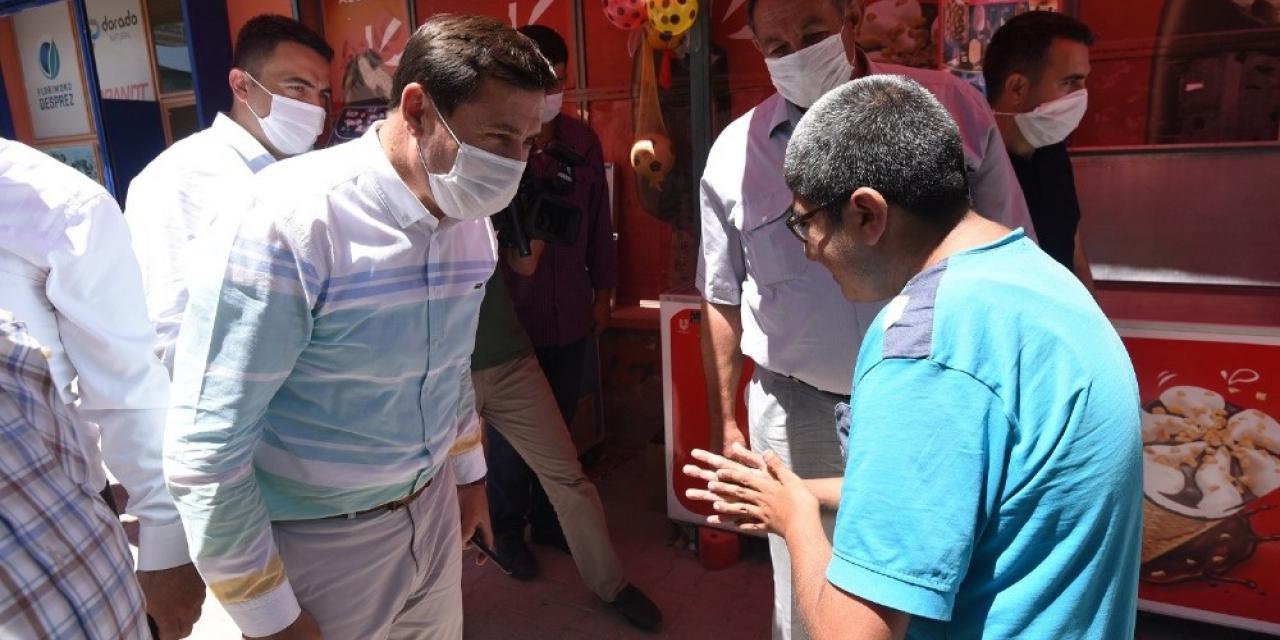 Başkan Kılca, mahalle ziyaretlerini sürdürüyor
