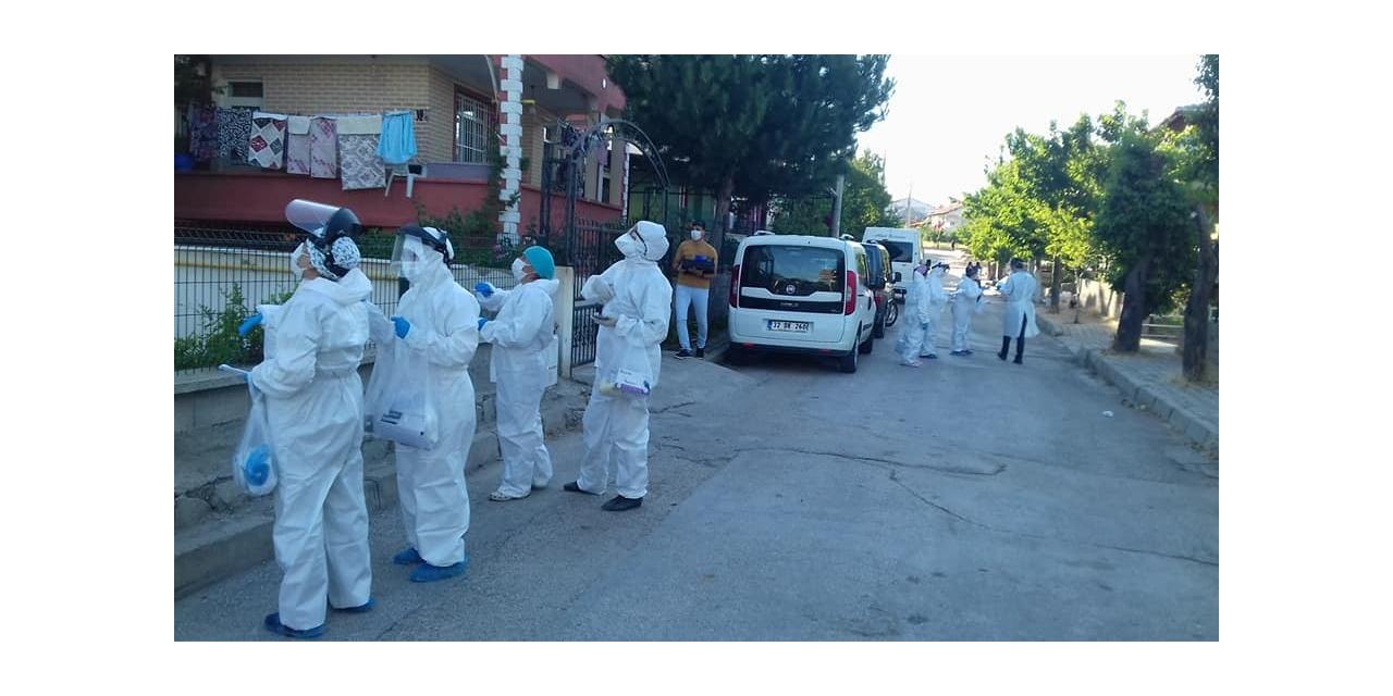 Isparta'da 12 pozitif vaka tespit edildi, bazı cadde ve sokaklar karantinaya alındı