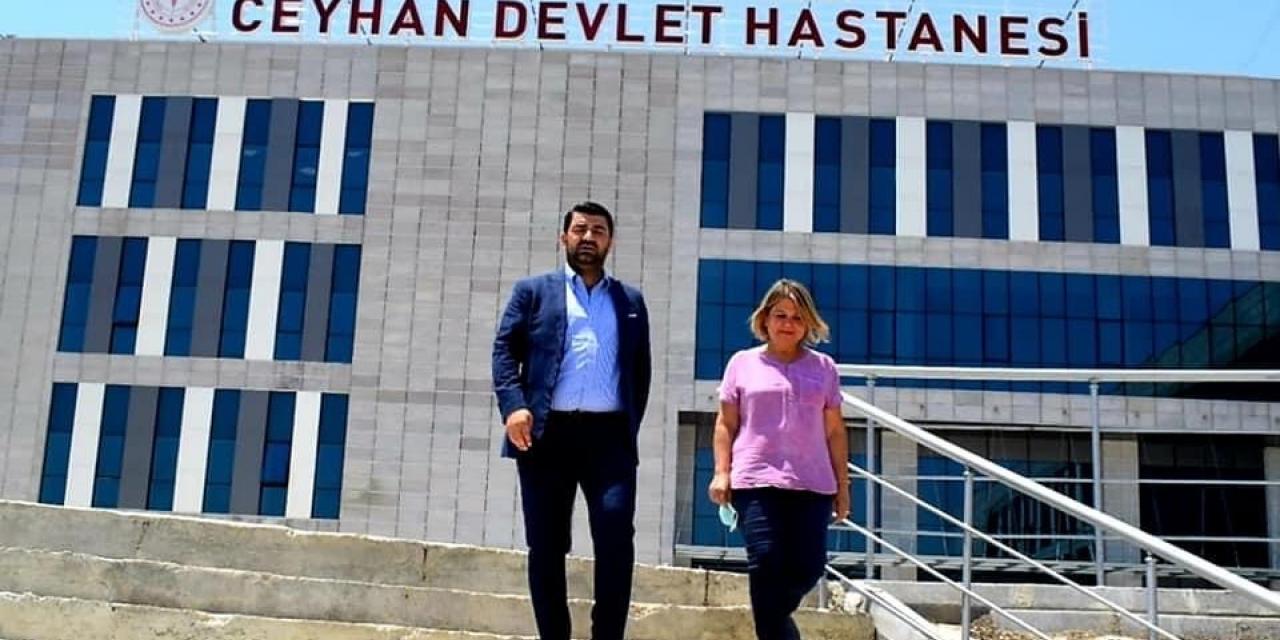 """Başkan Bünül: """"Ceyhan Devlet Hastanesini kısa sürede açacağız"""""""