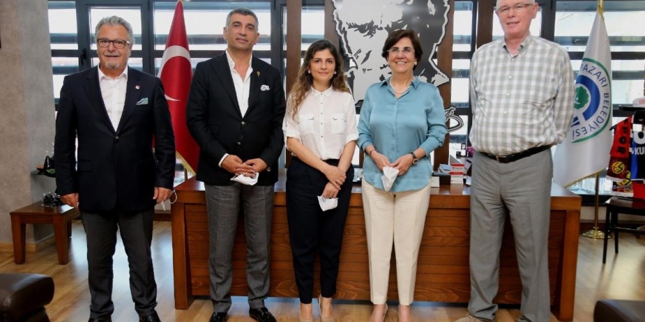 CHP Elazığ Milletvekili Gürsel Erol Kazım Kurt'u ziyaret etti