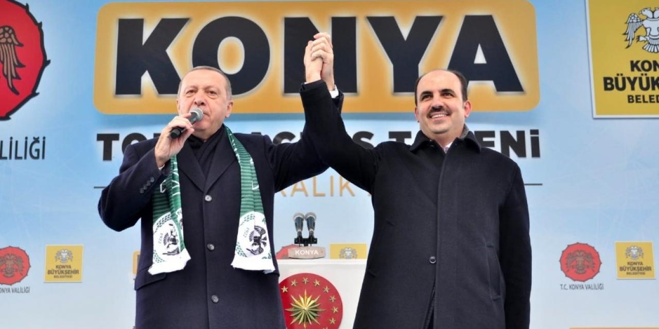 Başkan Altay'dan Cumhurbaşkanı Erdoğan'a teşekküt