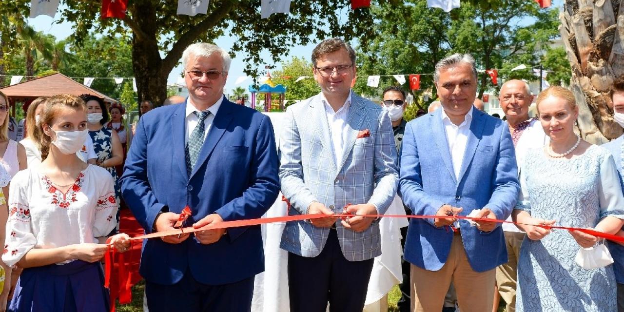 """Ukrayna Dışişleri Bakanı Kuleba: """"Ukrayna ve Türkiye birlikte çok fazla şey yapıyorlar"""""""