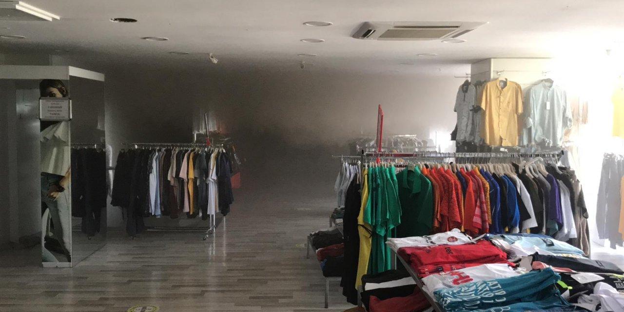 Bilecik'te bir alışveriş merkezinde çıkan yangın kontrol altına alındı