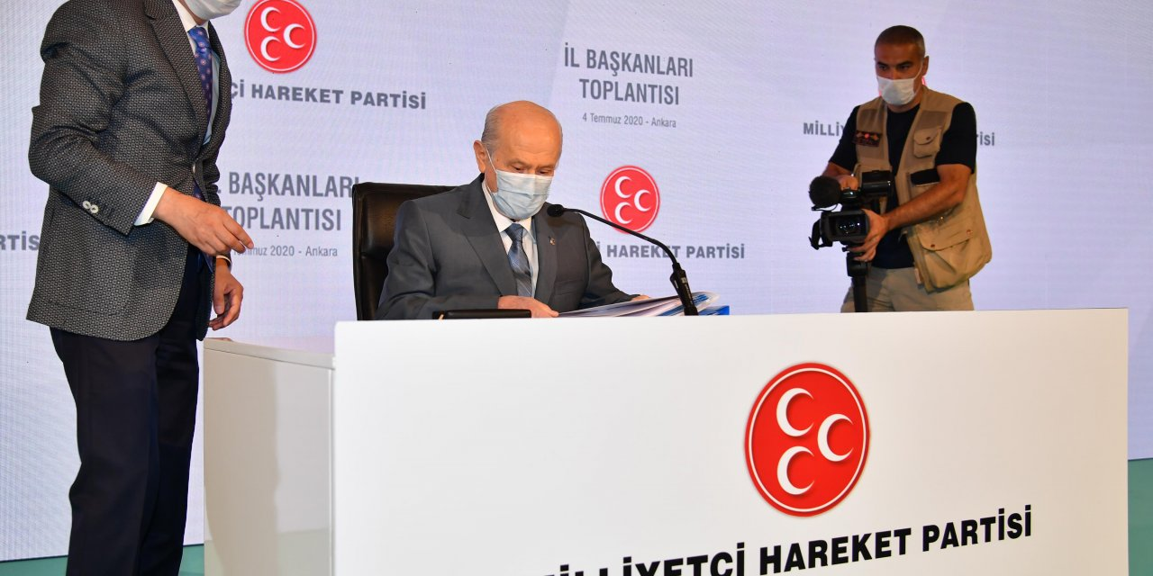 Bahçeli: Hiç kimse Gezi benzeri kalkışmanın fitilini tutuşturmayı aklından geçirmesin