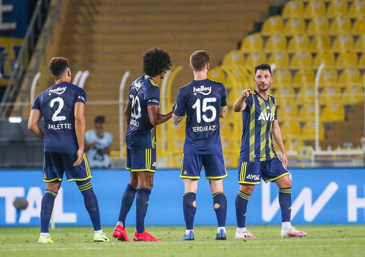 Fenerbahçe, Göztepe'yi Ferdi'nin golleriyle geçti:2-1