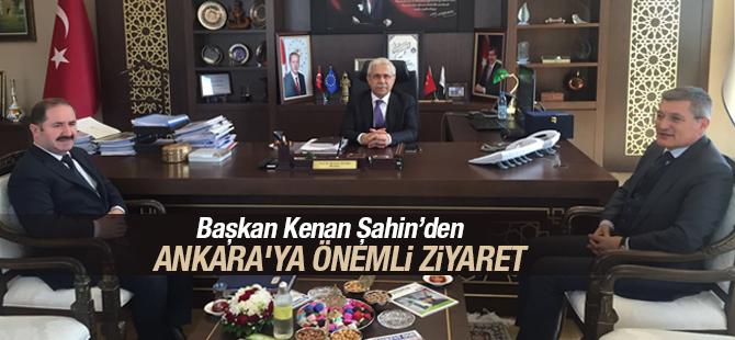 Başkan Kenan Şahin'den Ankara'ya Önemli Ziyaret