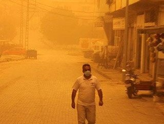 Meteoroloji'den toz fırtınası uyarısı