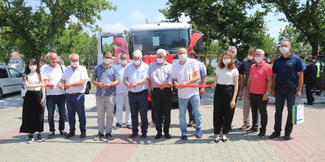 Ergene Belediyesi araç filosunu güçlendiriyor