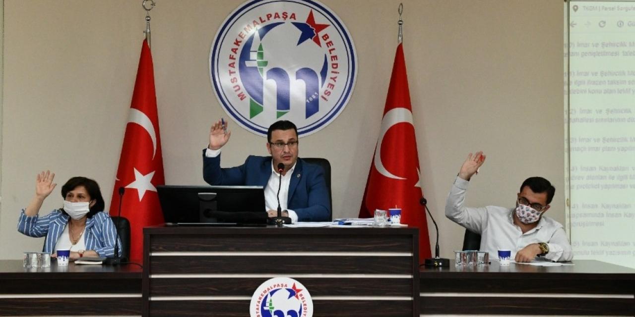 Mustafakemalpaşa Belediyesi 2019 faaliyet raporu oy birliği ile kabul edildi