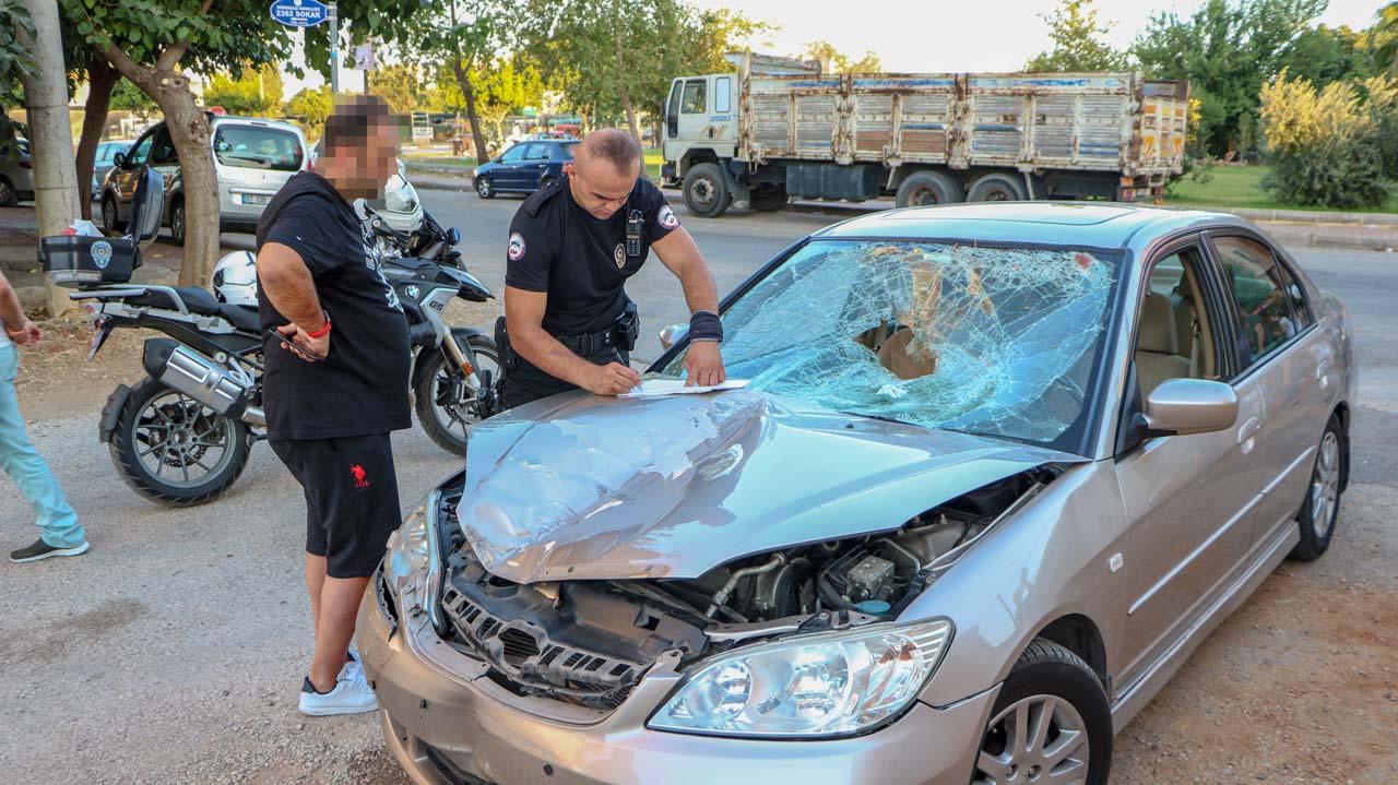 Antalya'da korkunç kaza! Öldüğünü görünce önce kaçtı, sonra teslim oldu