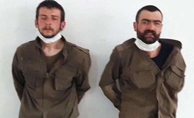 Biri Gri listede yer alan, iki terörist sağ olarak yakalandı