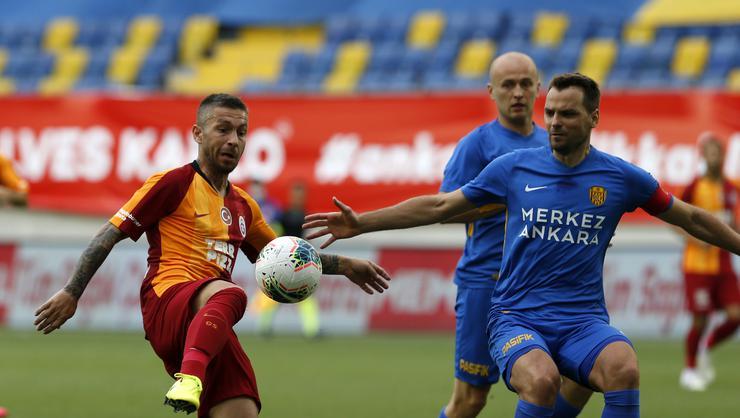 Galatasaray'dan Ankaragücü karşısında 1-0'lık hezimet!