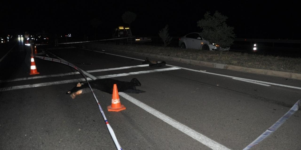 Traktör, otomobil ve hafif ticari aracın karıştığı kazada 1 kişi öldü