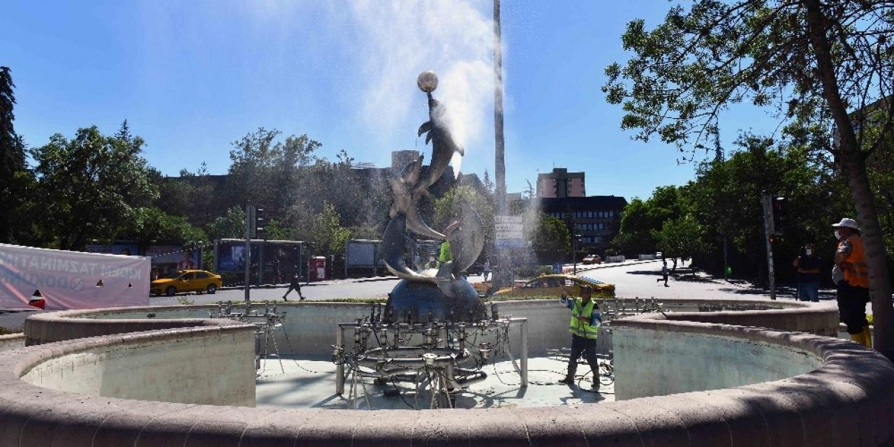 Başkent'in havuzları pırıl pırıl