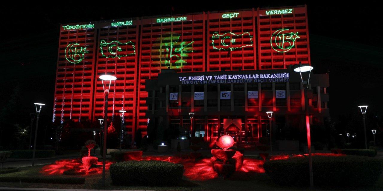 Bakan Dönmez: Türkiye'nin enerjisi darbelere hiçbir zaman geçit vermeyecek