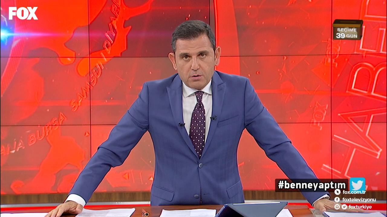 FOX TV, dizinin yayını kesip Cumhurbaşkanı Erdoğan'ın konuşmasını yayınladı!