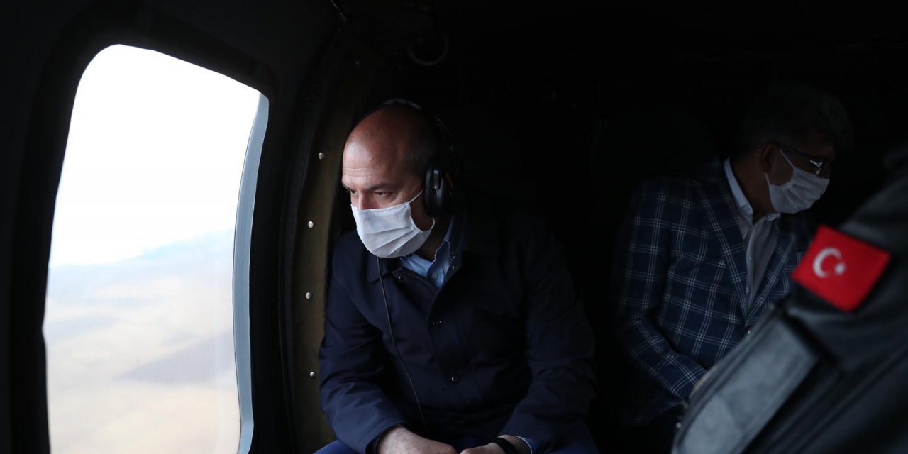 Emniyete ait keşif uçağı Van'da dağa çarptı: 7 şehit- Yeniden