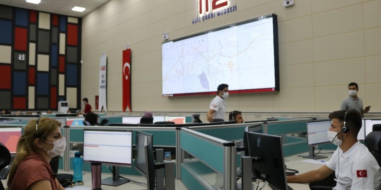 Diyarbakır'da acil çağrı merkezleri tek numarada toplandı